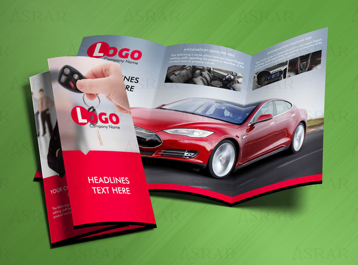 Car Show Room Brochure