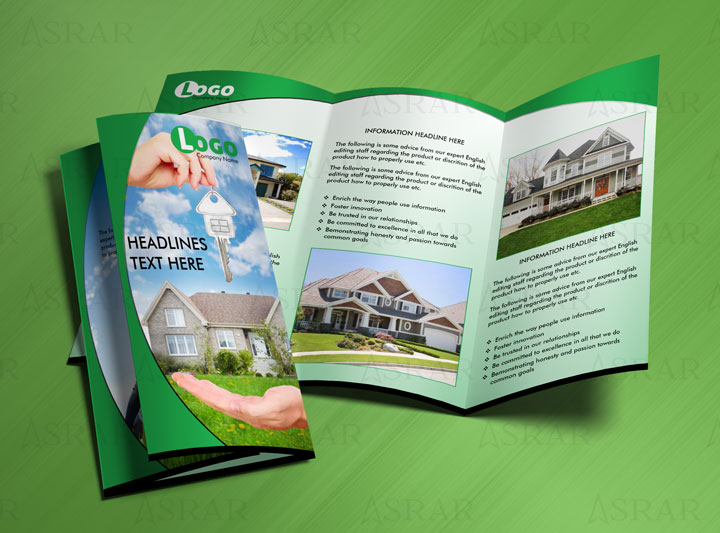 Commercial Real Estate Brochure Template