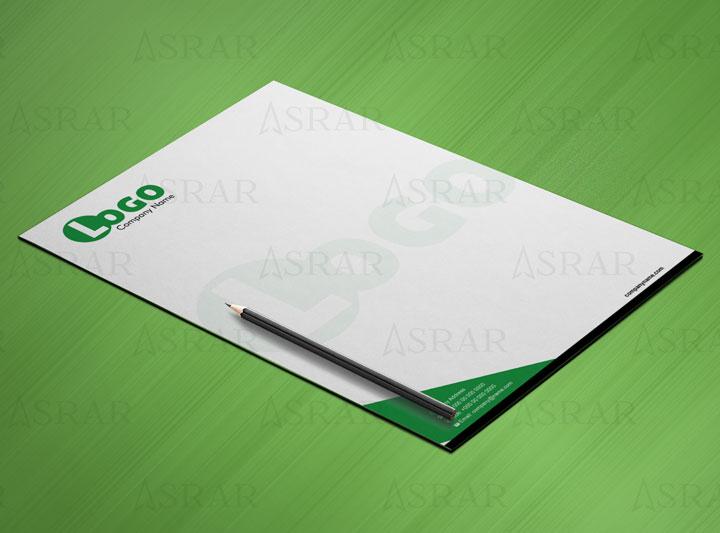 creative Letter Head design