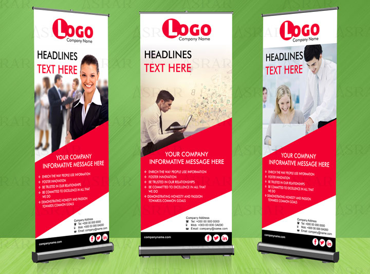 Training Center Roll up Banner