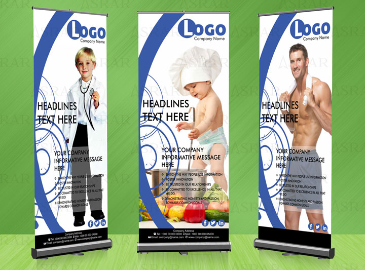 Fashion Shop Roll up Banner